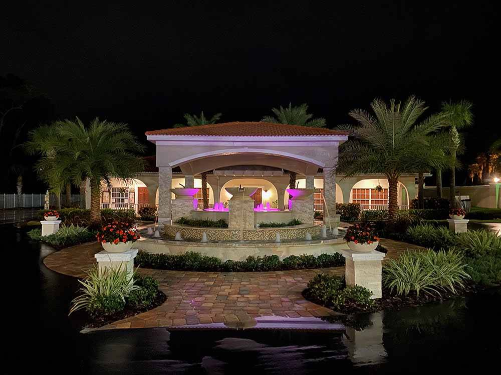 Couple camping in RV at JA-MAR NORTH TRAVEL PARK
