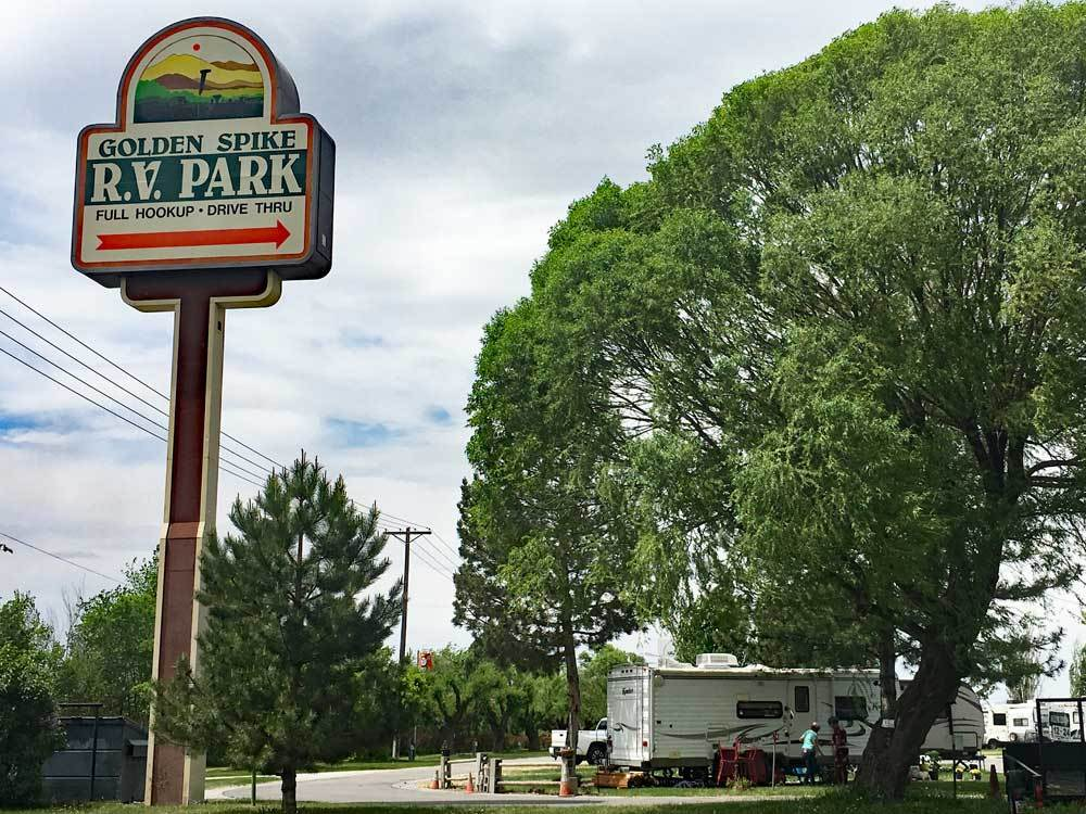 Campgrounds at GOLDEN SPIKE RV PARK