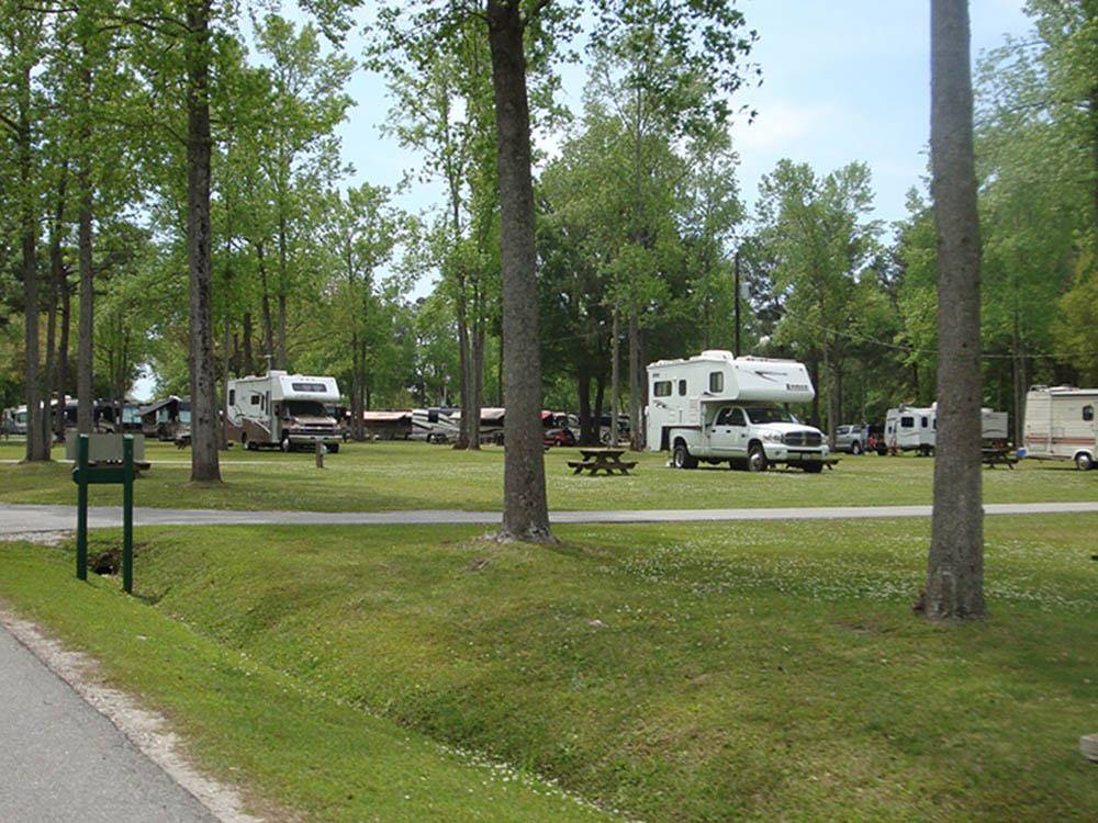 Oak Plantation Campground Charleston Campgrounds Good