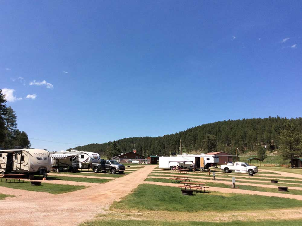 Whispering Pines Campground Rapid City Sd Rv Parks