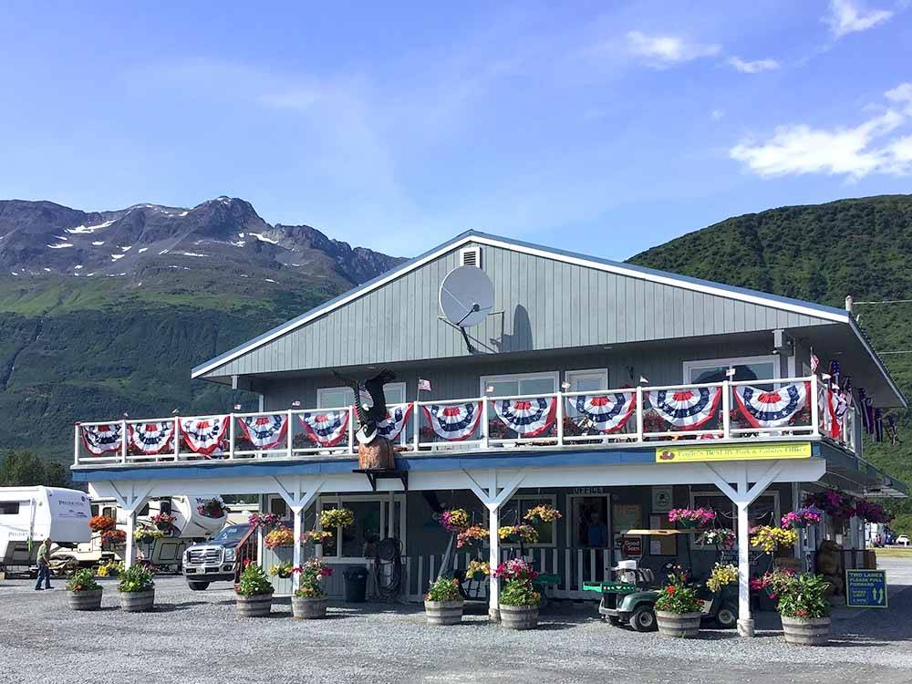 EAGLES REST RV PARK  CABINS at VALDEZ AK