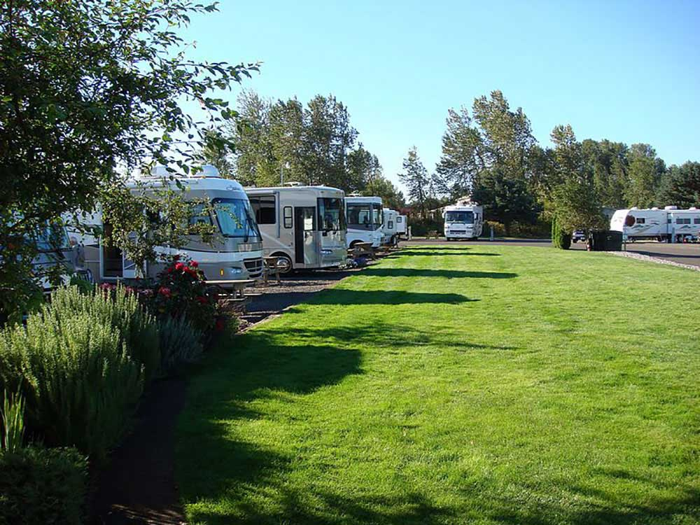 Columbia Riverfront Rv Park Woodland Campgrounds Good