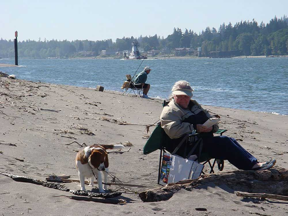 COLUMBIA RIVERFRONT RV PARK At WOODLAND WA