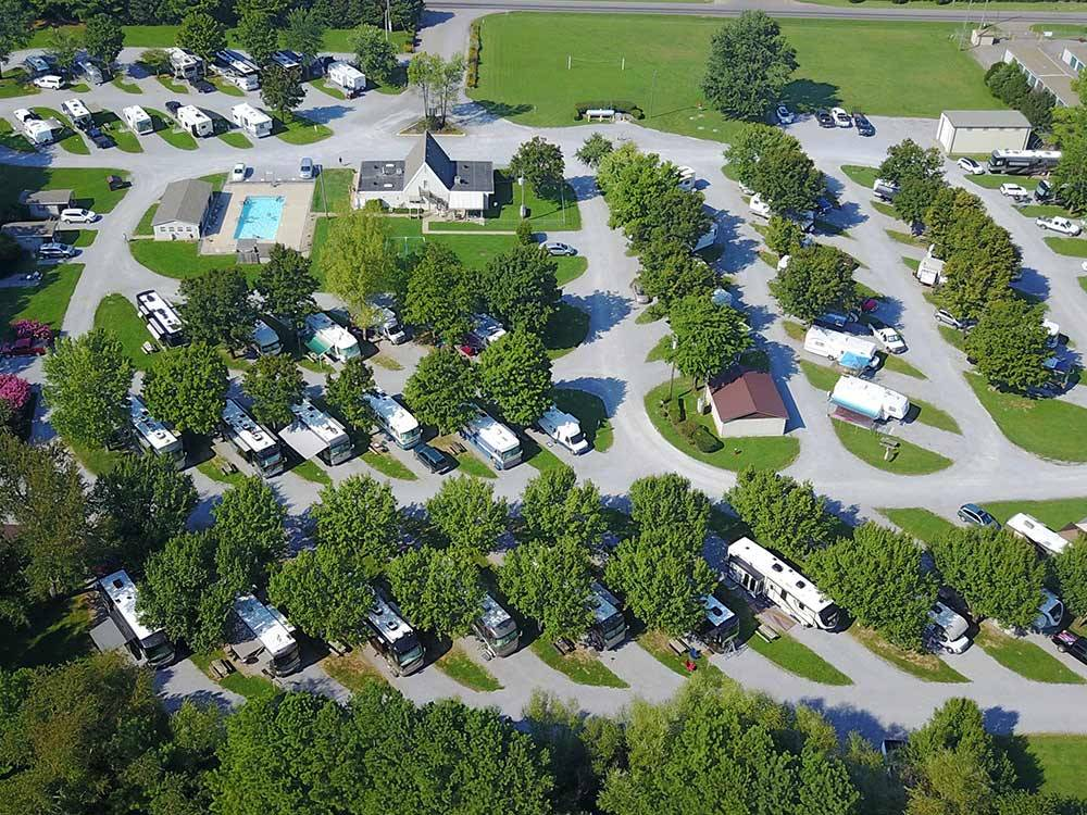 CLARKSVILLE RV PARK at CLARKSVILLE TN