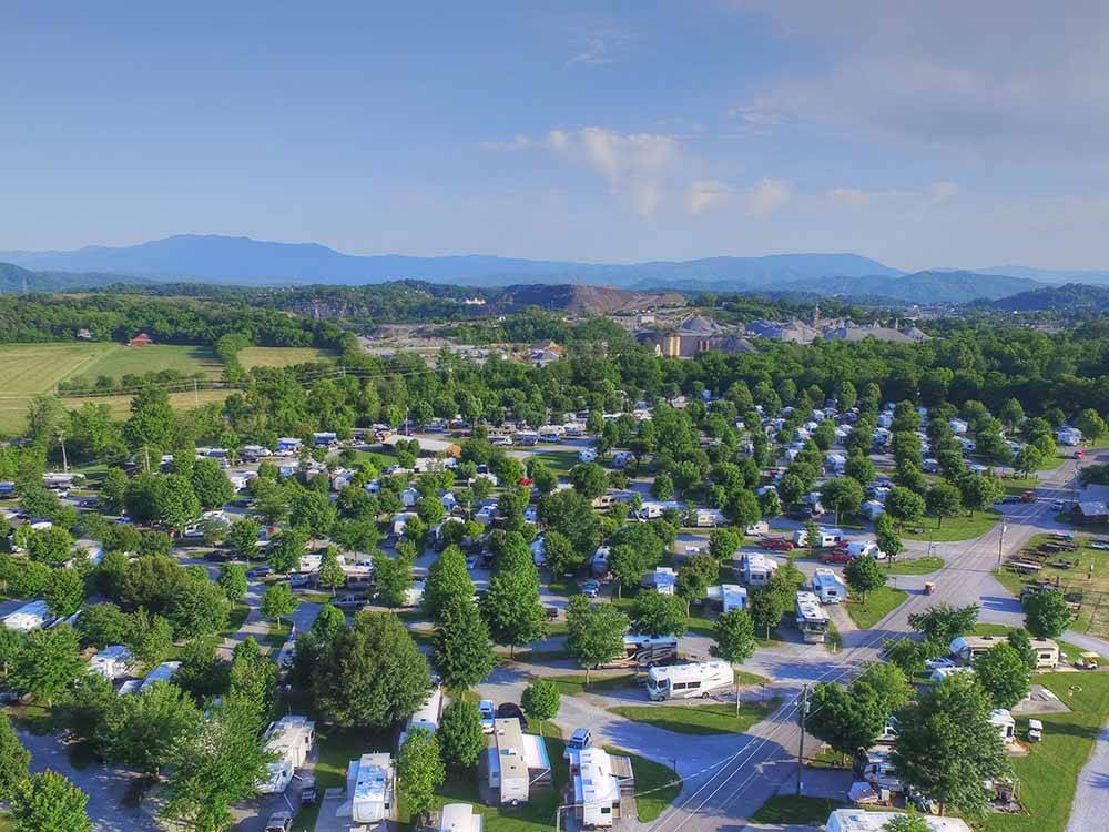 River Plantation Rv Resort Sevierville Campgrounds