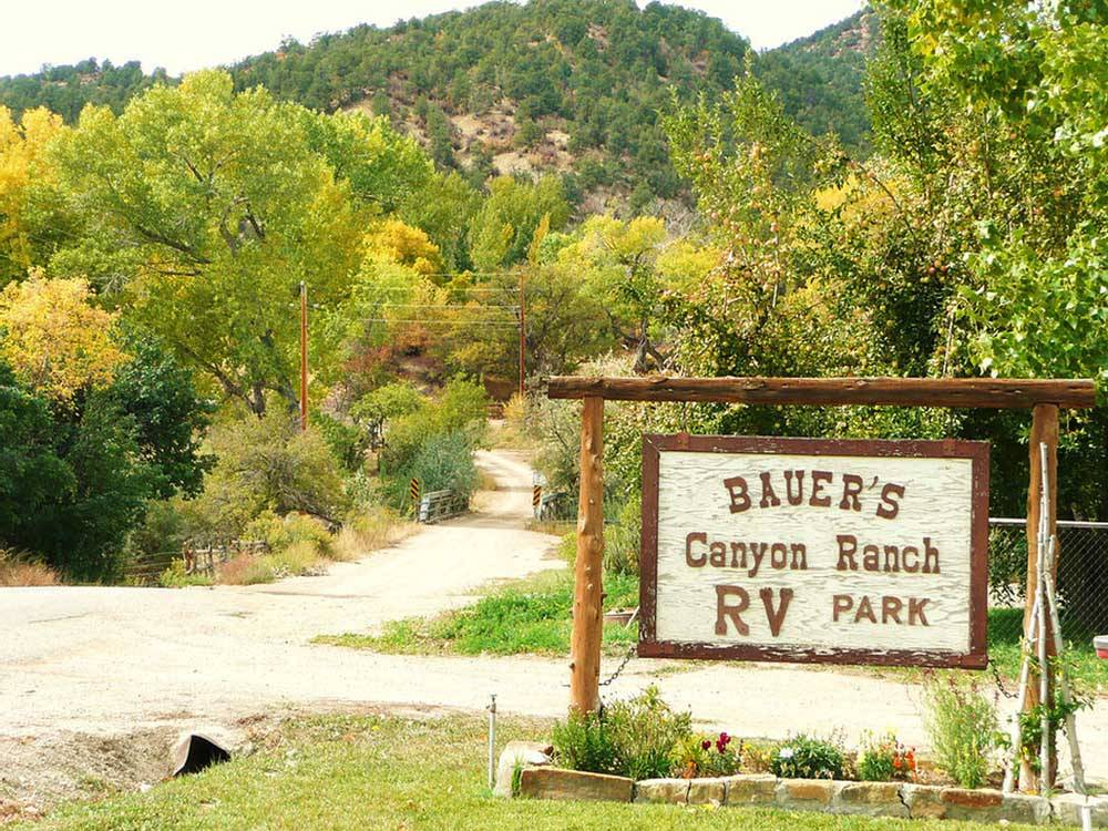 bauers canyon ranch rv park glendale campgrounds good sam club