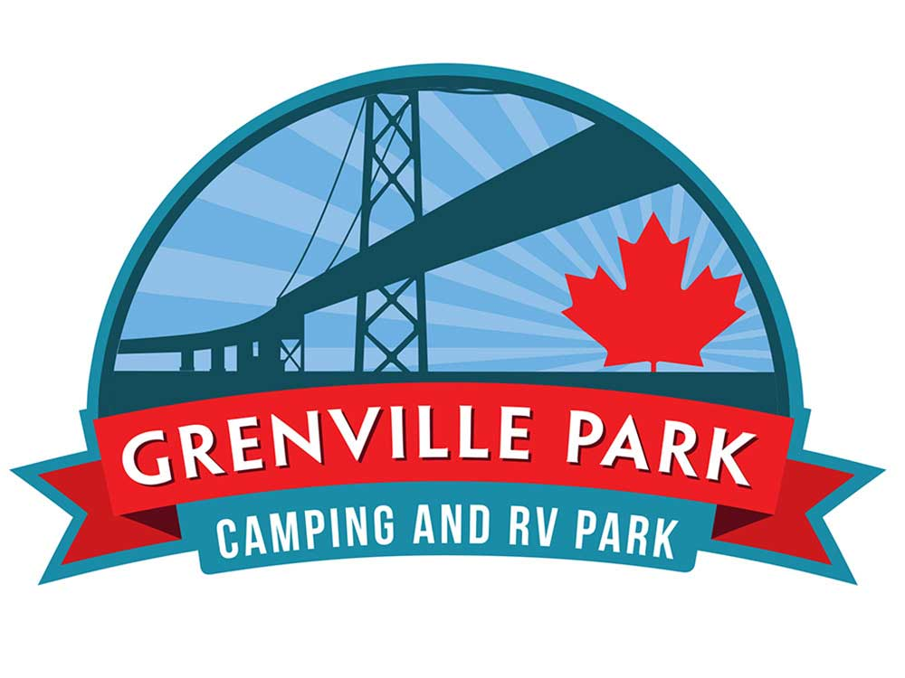 Sign at entrance to RV park at GRENVILLE PARK CAMPING  RV PARK