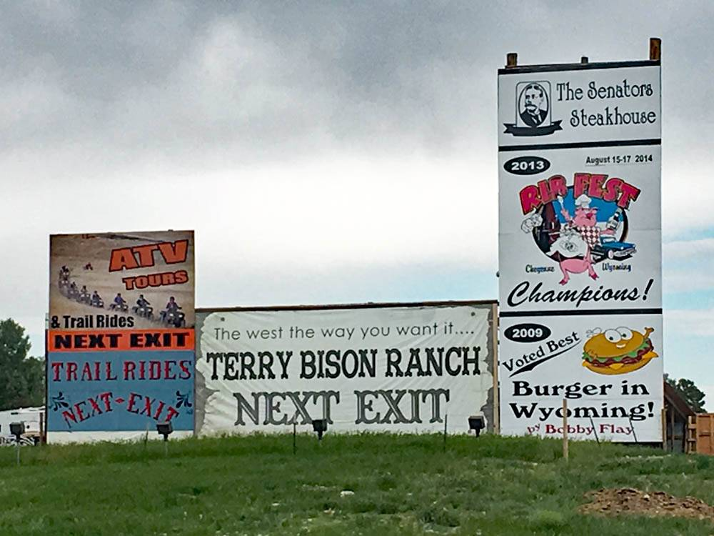 TERRY BISON RANCH RV PARK at CHEYENNE WY