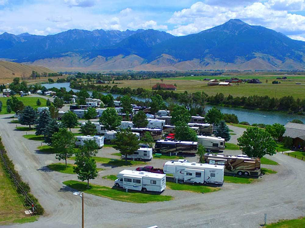 Yellowstone S Edge Rv Park Livingston Mt Rv Parks And