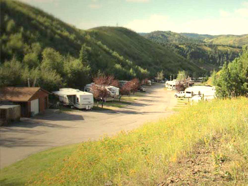 WHISTLER GULCH RV PARK CAMPGROUND At DEADWOOD SD