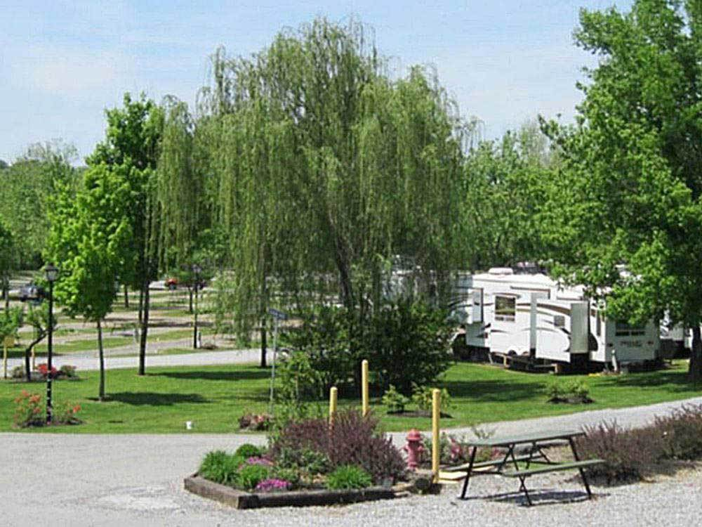 Ripplin Waters Campground Cabin Rental Sevierville