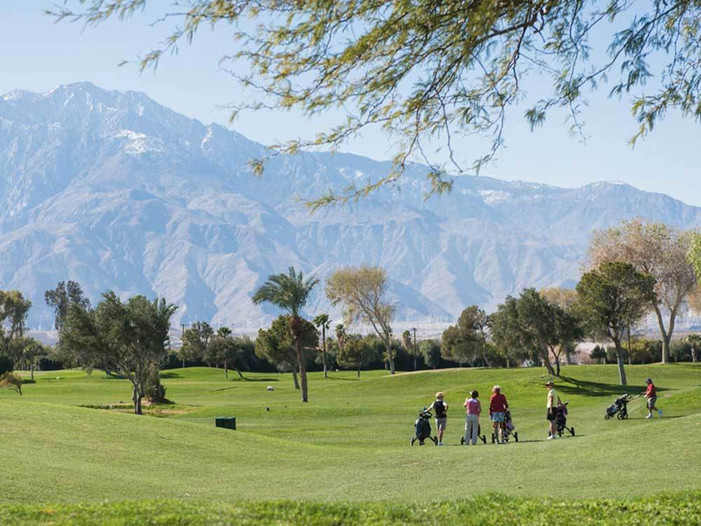 HIDDEN SANDS GOLF  RACQUET CLUB at DESERT HOT SPRINGS CA