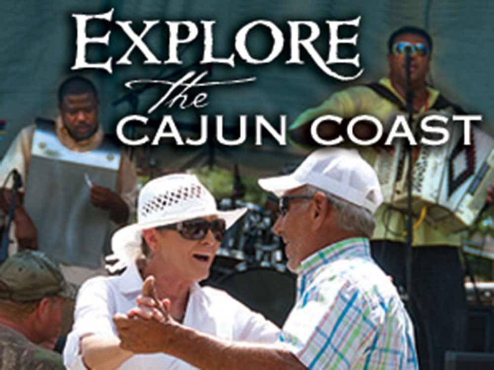 Couple dancing at CAJUN COAST VISITORS  CONVENTION BUREAU