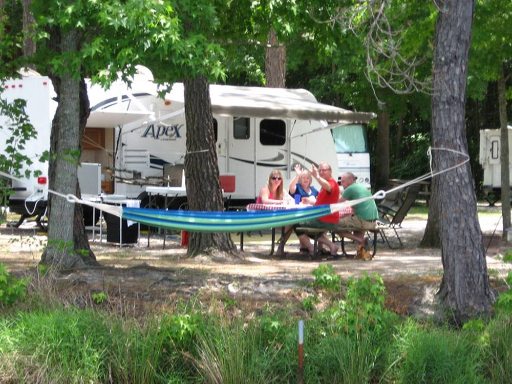 Full hookup rv campgrounds in ga