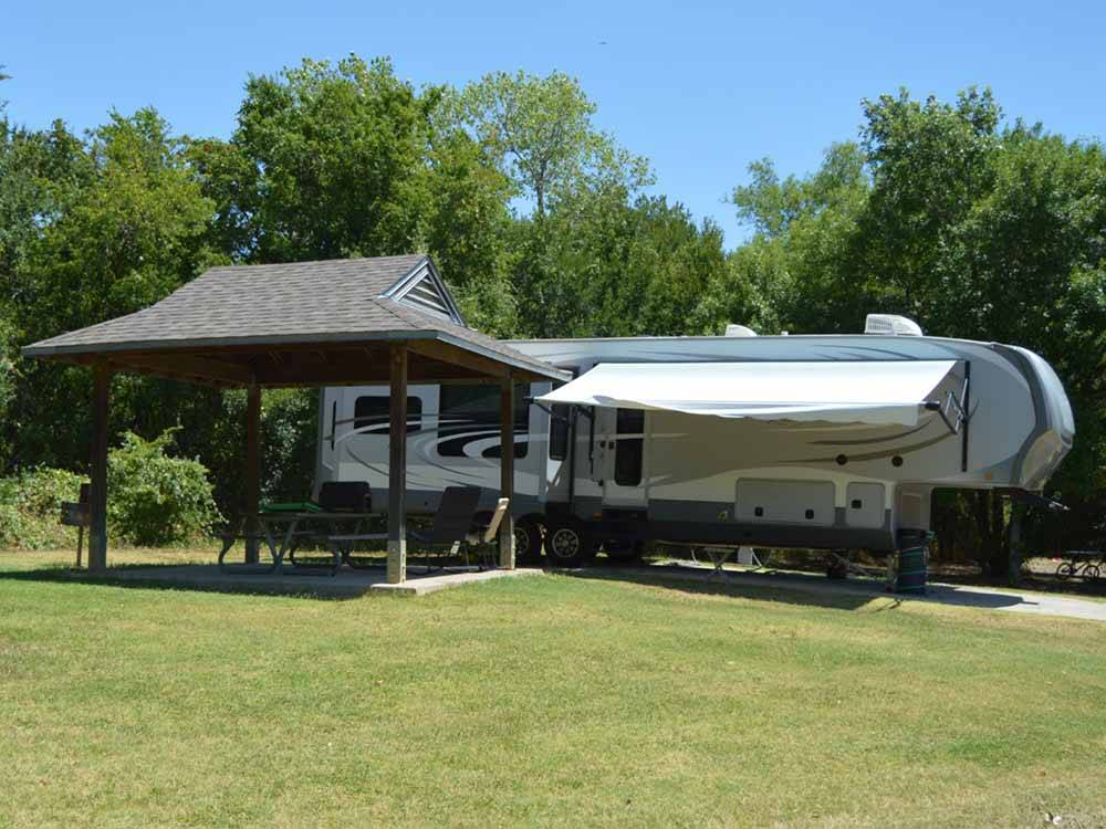 Lake view at LOYD PARK CAMPING CABINS  LODGE