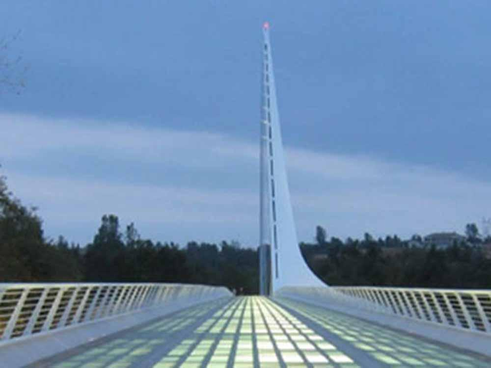 Magnificent aerial view at MOUNTAIN GATE RV PARK