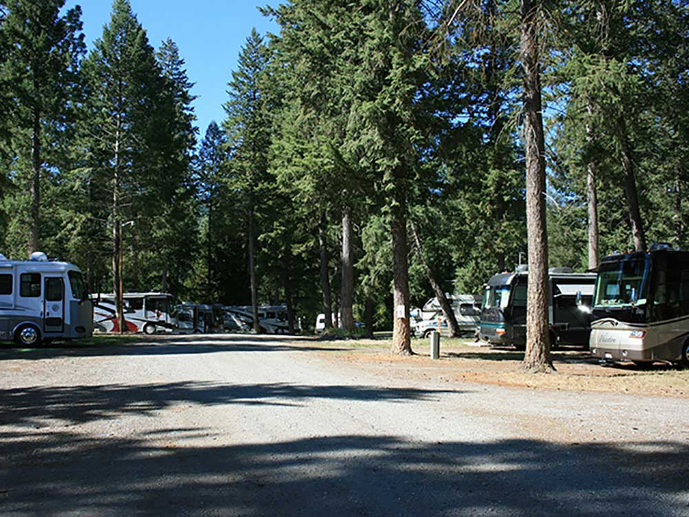 RVs camping at WOODLAND RV PARK