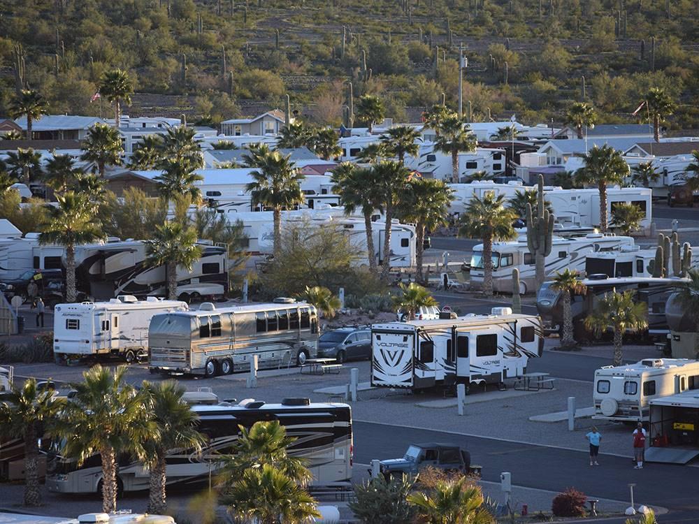 Desert Gold Rv Resort Salome Campgrounds Good Sam Club