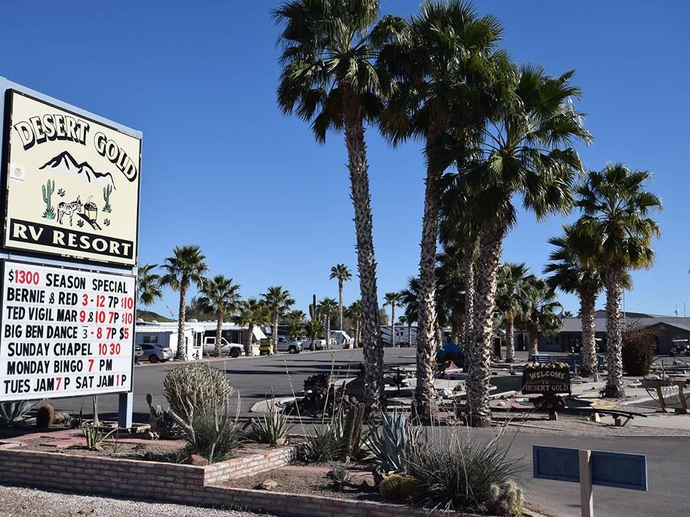 Desert Gold Rv Resort Salome Az Rv Parks And