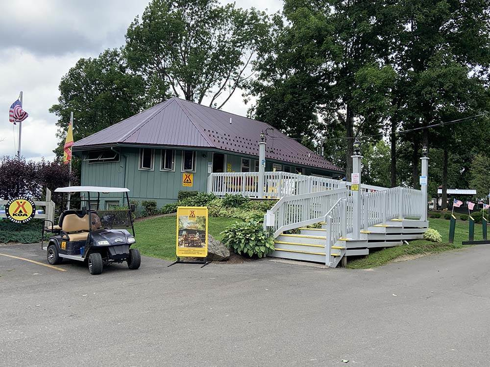 Lodge office at CHAUTAUQUA LAKE KOA