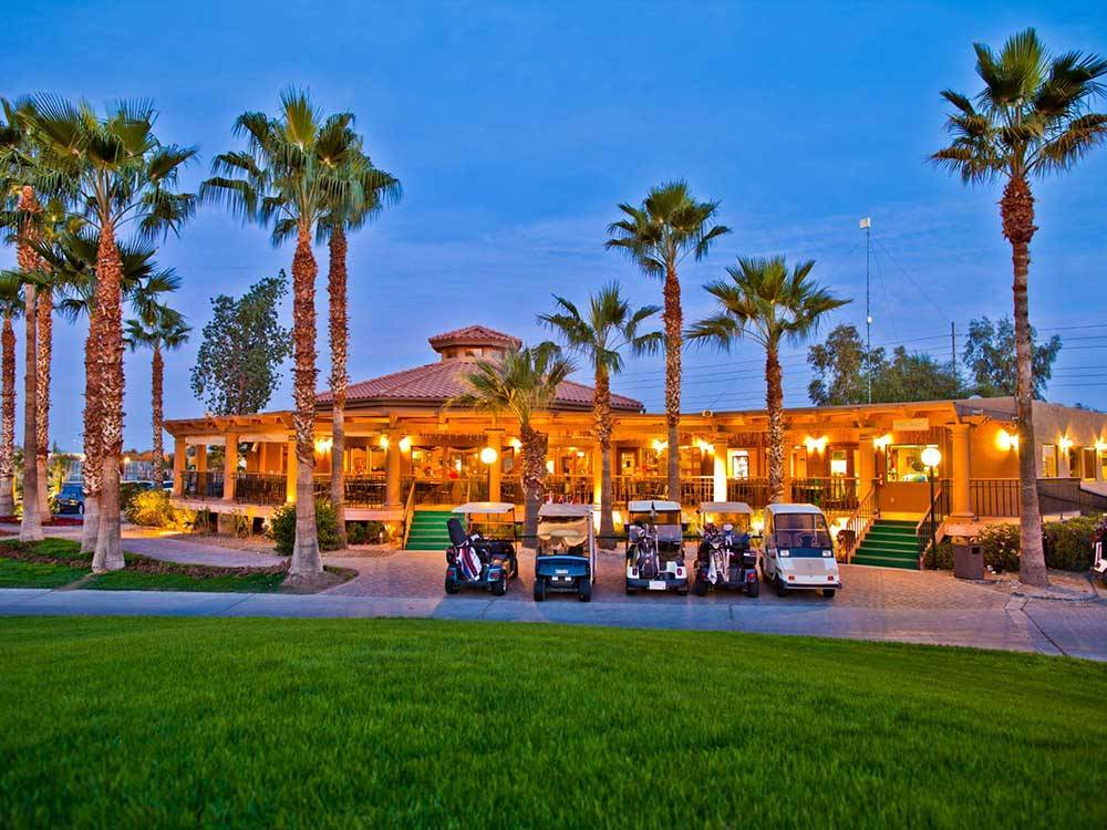 Clubhouse at PUEBLO EL MIRAGE RV  GOLF RESORT