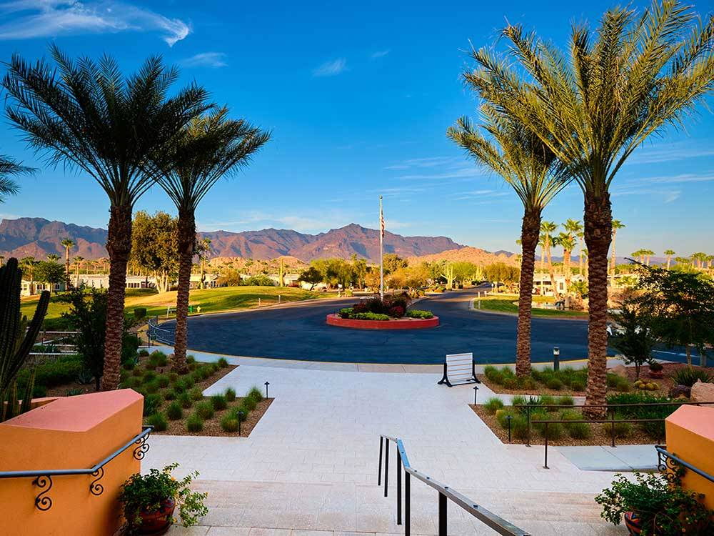 RVs trailers and lodging at GOLD CANYON RV  GOLF RESORT