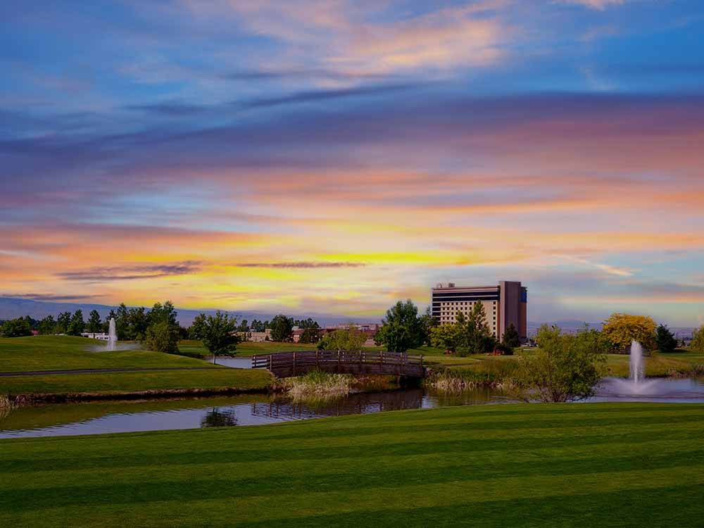 WILDHORSE RESORT  CASINO RV PARK at PENDLETON OR