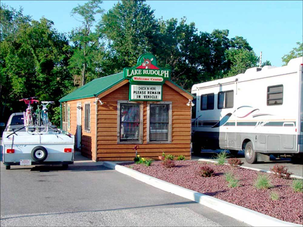 Lake Rudolph Campground RV Resort Santa Claus Campgrounds