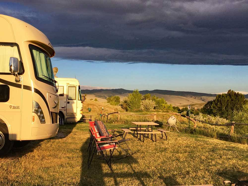 Campsites at SLEEPING BEAR RV PARK  CAMPGROUND