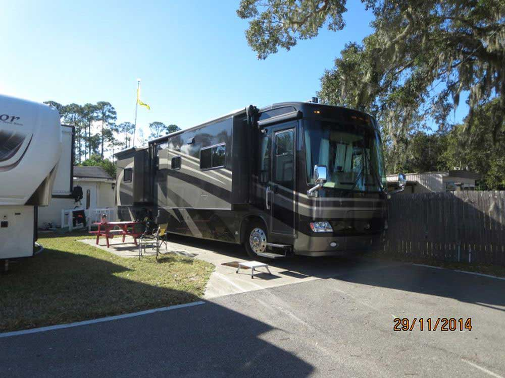Harris Village Rv Park Ormond Beach Fl