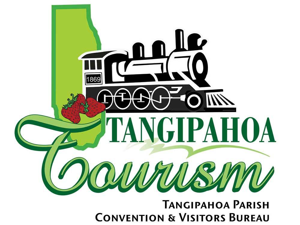 Sign at entrance to RV park at TANGIPAHOA PARISH CONVENTION  VISITORS BUREAU