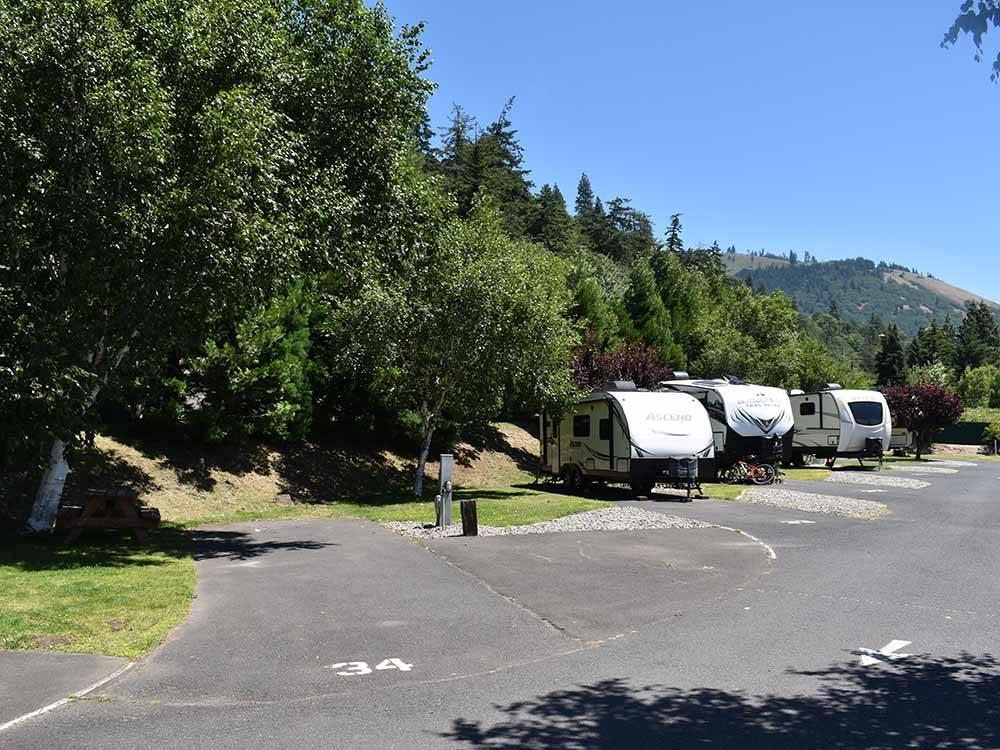 bridge rv park campground white salmon campgrounds good sam club