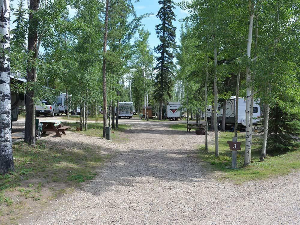 Camp Tamarack Rv Park Grande Prairie Ab Rv Parks And