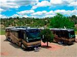 View larger image of RVs parked in gravel sites at MESA VERDE RV RESORT image #2