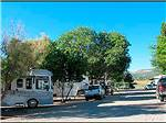 View larger image of RVs at campground on a clear sunny day at MESA VERDE RV RESORT image #4