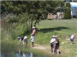 View larger image of People fishing at MAPLE LAKES RECREATIONAL PARK image #7