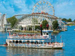 View larger image of People enjoying views on boat at INDIANA BEACH CAMPGROUNDS image #1