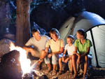 View larger image of Campfire while camping at INDIANA BEACH CAMPGROUNDS image #3