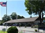 View larger image of A cabin in the woods at TRIPLEBROOK CAMPING RESORT image #6