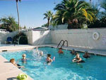 View larger image of Adults swimming in the pool at HO HO KAM RV PARK image #12
