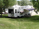View larger image of Trailer at campground with bikes at DEER PARK image #11