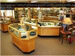 View larger image of Gift store with jewelry cases at PONDEROSA CAMPGROUND image #9