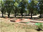 View larger image of A part of the miniature golf course at OASIS RV RESORT  COTTAGES - DURANGO image #6