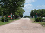View larger image of Entrance to RV park at PRAIRIE OASIS CAMPGROUND  CABINS image #4