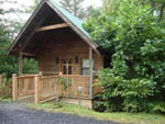 View larger image of Cabin lodging at BEAR DEN FAMILY CAMPGROUND AND CREEKSIDE CABINS image #3