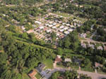 View larger image of An aerial view of the RV sites at ORANGE GROVE MOBILE HOME  RV PARK image #7