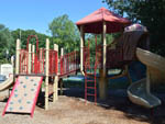 View larger image of Playground with slide at RIVERDALE FARM CAMPSITES image #5