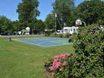 View larger image of Basketball court at campground at RIVERDALE FARM CAMPSITES image #7