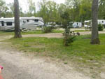View larger image of Trailers camping at campsite at TIMBERLAND LAKE CAMPGROUND image #6