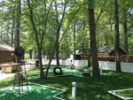 View larger image of Miniature golf course at TIMBERLAND LAKE CAMPGROUND image #8
